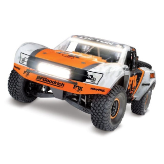 TRAXXAS Unlimited Desert Racer 4x4 VXL Fox-Edition RTR + LED 1/7 4WD Pro-Scale Race-Truck Brushless ohne Akku/Lader
