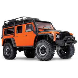 TRAXXAS TRX-4 1/10 Scale And Trail Crawler Land Rover Defender - GO-Limited Edition Orange