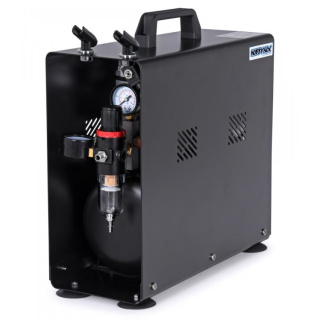 Airbrush Compressor 1/4HP with 3.5L Tank (0-6BAR)
