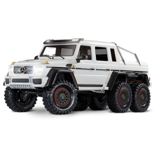 Traxxas Mercedes-Benz G63 AMG 6x6 RTR  inkl Licht 1/10 6WD Scale-Crawler Brushed weiß