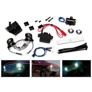 Lichter-Set Chevy Blazer komplett mit Power Supply für 8130 TRAXXAS