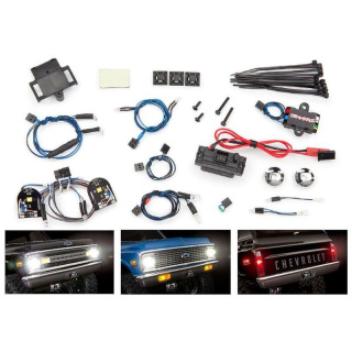 Lichter-Set komplett mit Power Supply für 9111 + 9112 Karo TRAXXAS